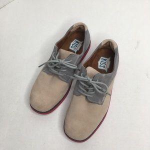 Florsheim Kids Suede Oxford Shoes Boy's Size 5